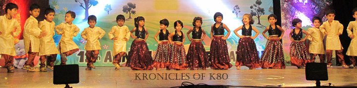 "Annual Day Performance - Dancing for ""Lakdi Ki Kaathi"""