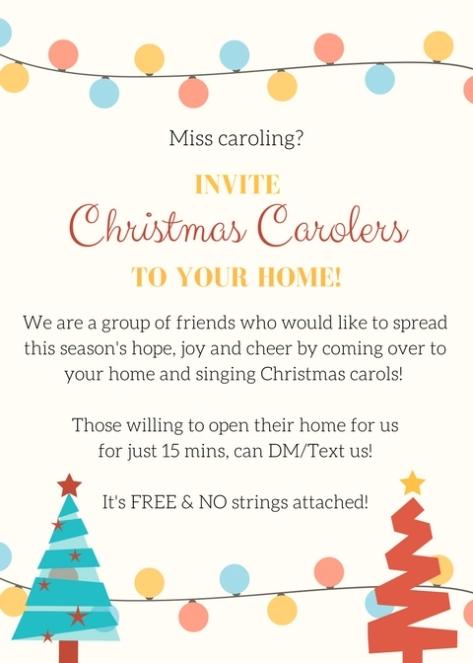FFF Carolling Invite